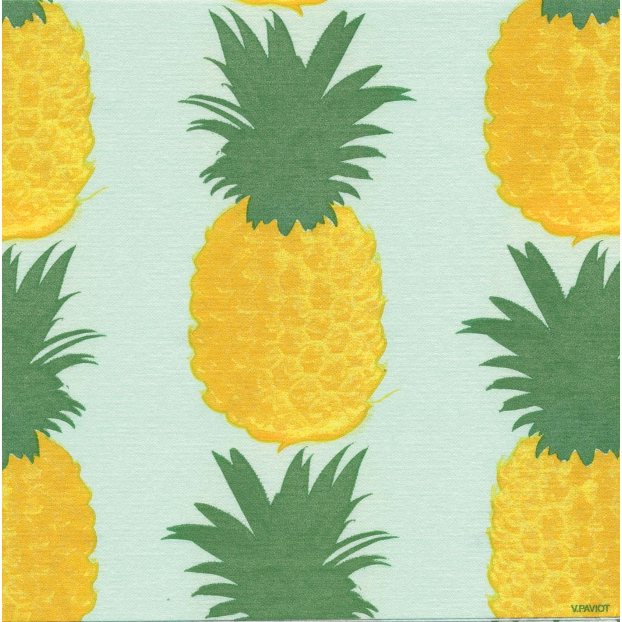"Francoise Paviot ""Ananas"" Pineapple Dinner Napkin, FP-Francoise Paviot, Putti Fine Furnishings"