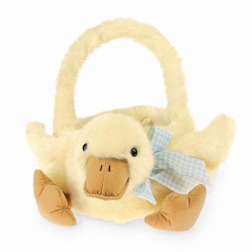 """Quack"" Duck Easter Basket -  Easter - Bearington - Putti Fine Furnishings Toronto Canada - 1"