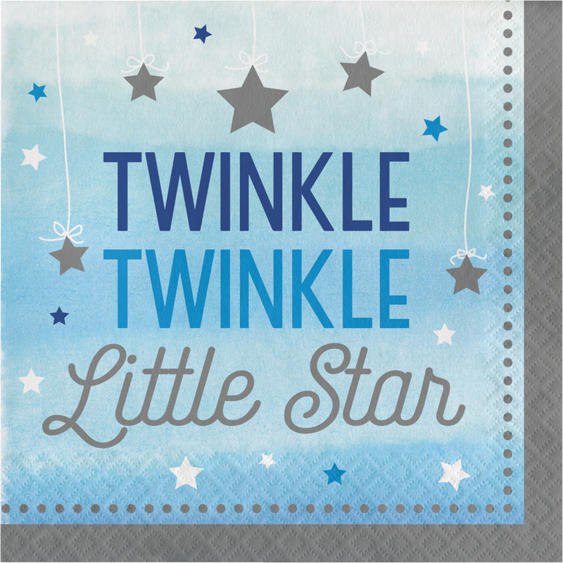 Twinkle Twinkle Little Star - Large Paper Napkins, CC-Creative Converting, Putti Fine Furnishings