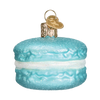 Old World Macaron Glass Ornament - Blue Christmas Decorations - Old World Christmas - Putti Fine Furnishings Toronto Canada - 5