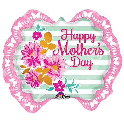 "Pink Marquee ""Happy Mother's Day"" Balloon, SKS- SKS Novelty, Putti Fine Furnishings"