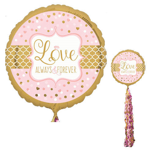 """Love Always & Forever"" Air Walker Balloon"