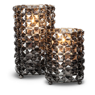 Crystal Hurricane - Small Smoke -  Accessories - AC-Abbot Collection - Putti Fine Furnishings Toronto Canada - 3