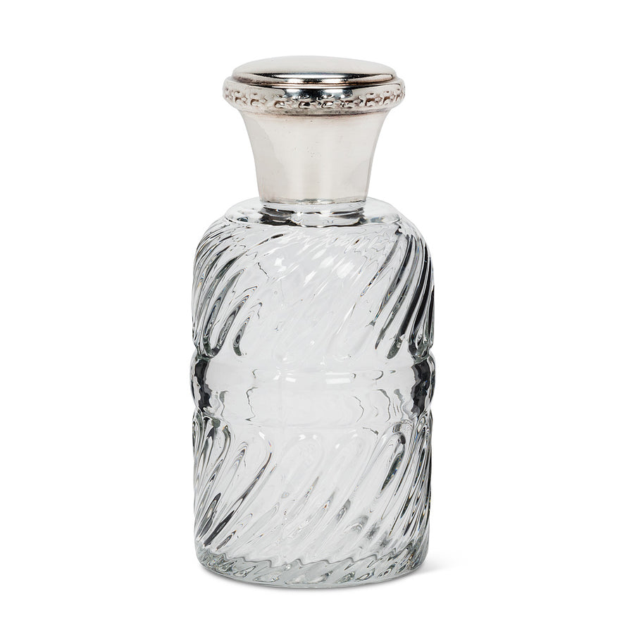 Round Spiral Bottle with Lid