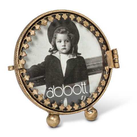 Small Round Frame -  Accessories - AC-Abbott Collection - Putti Fine Furnishings Toronto Canada