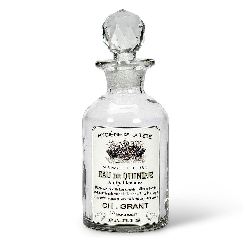 "Glass Bottle ""Quinine"" Label -  Accessories - AC-Abbott Collection - Putti Fine Furnishings Toronto Canada - 1"