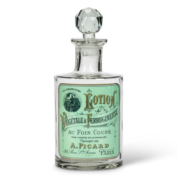 "Oval Glass Bottle ""Lotion"" Label -  Accessories - AC-Abbott Collection - Putti Fine Furnishings Toronto Canada - 1"