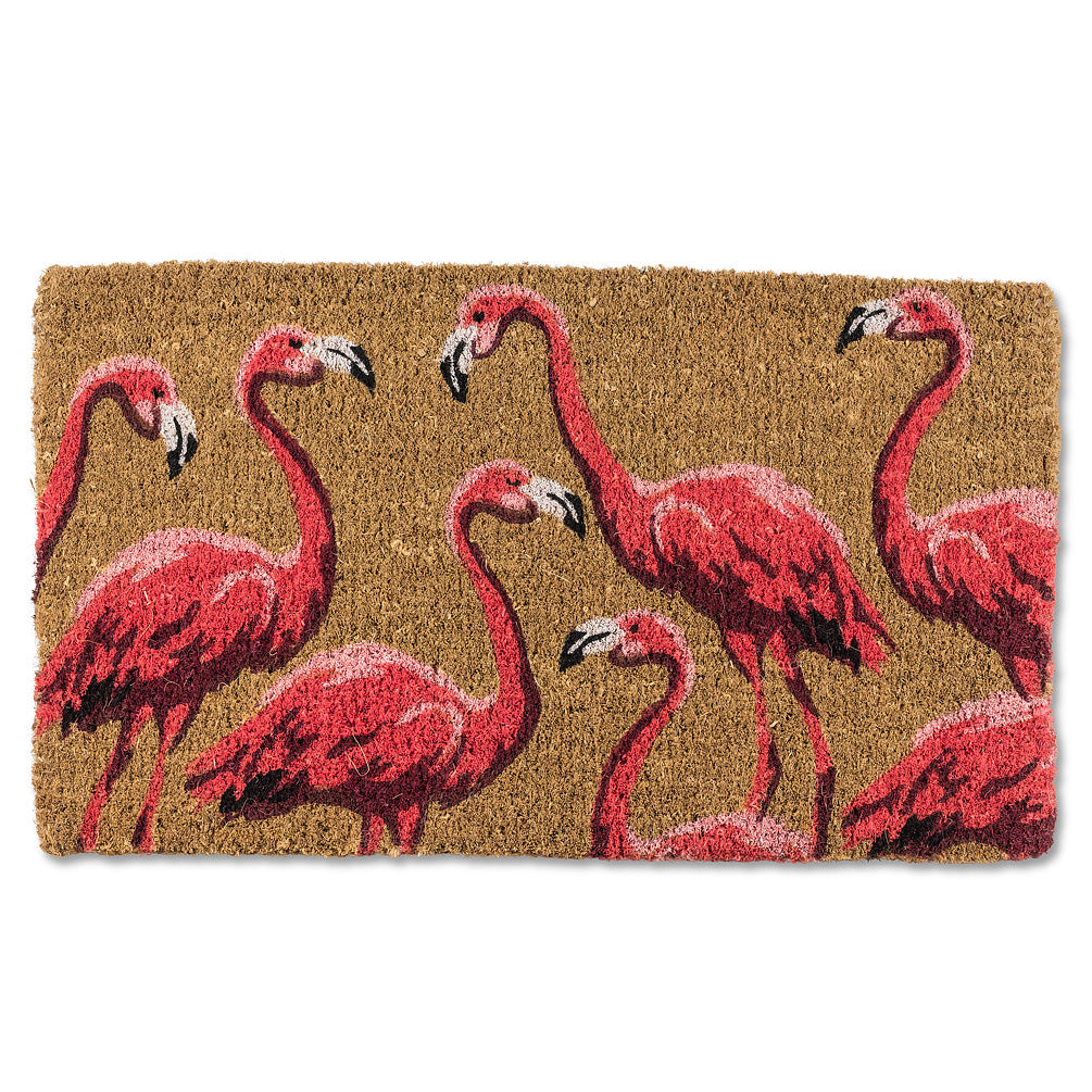 Flamingo Doormat, AC-Abbott Collection, Putti Fine Furnishings