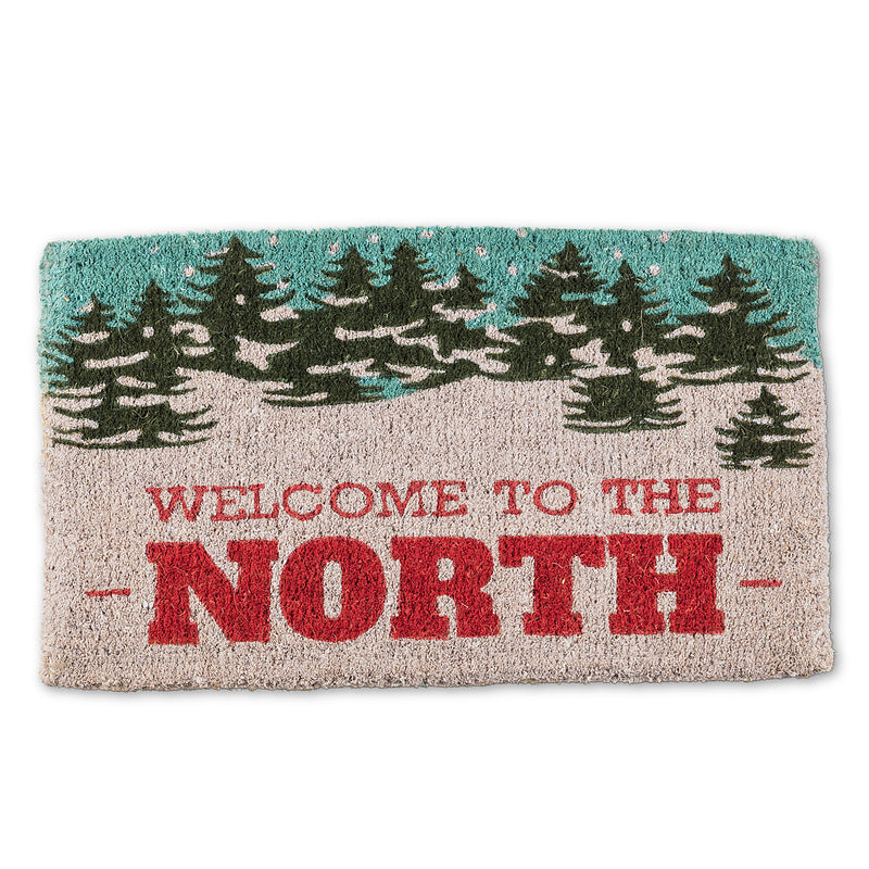 Welcome to the North Christmas Doormat
