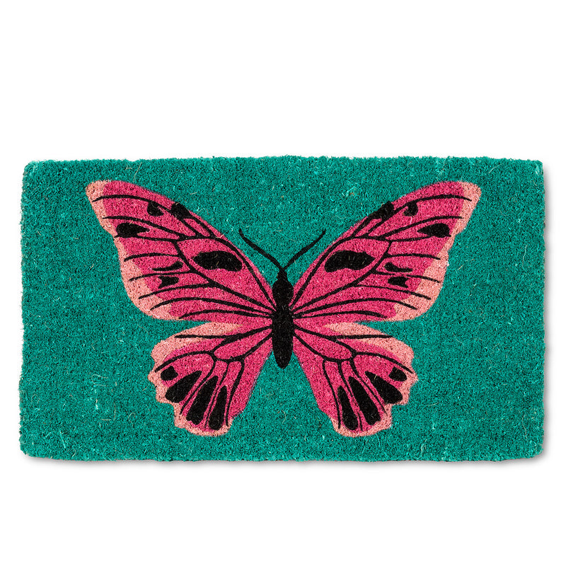 Bold Butterfly Doormat  | Putti Fine Furnishings Toronto Canada