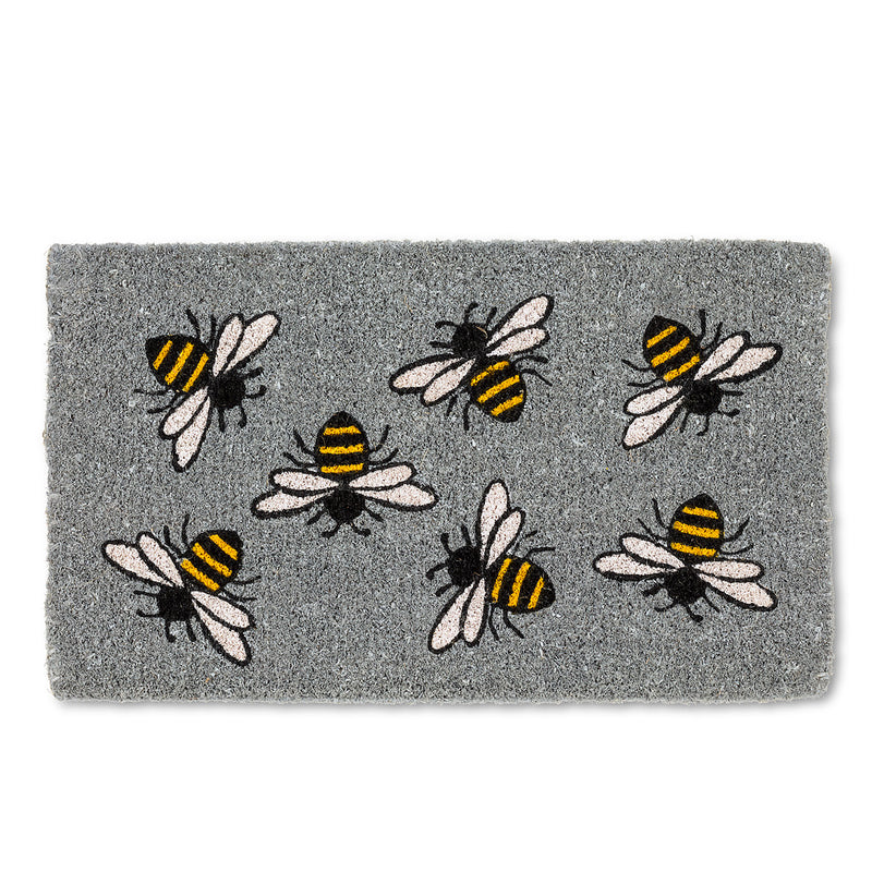 Buzzing Bee Doormat  | Putti Fine Furnishings Toronto Canada