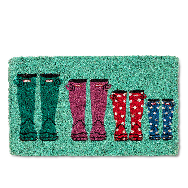 Rubber Boots Doormat  | Putti Fine Furnishings Toronto Canada