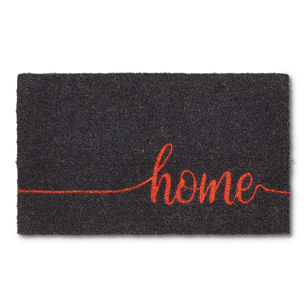 Home Doormat - Coral Orange