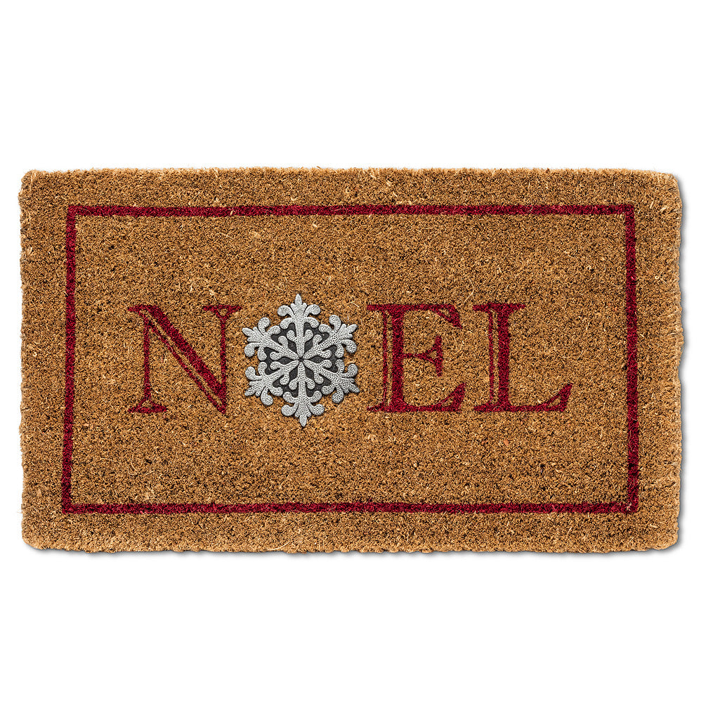 Noel with Snowflake Doormat | Putti Christmas Canada
