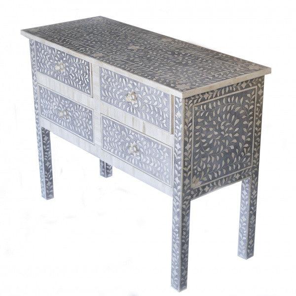 Bone Inlay Sideboard - Grey, BI-Bethel International, Putti Fine Furnishings
