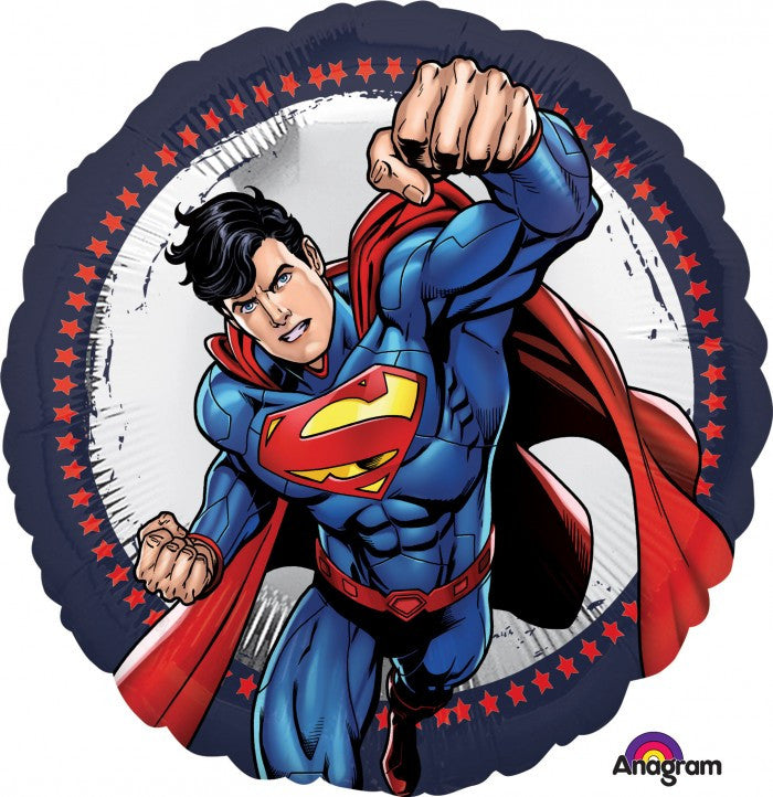 Superman Mylar Balloon, SE-Surprize Enterprize, Putti Fine Furnishings