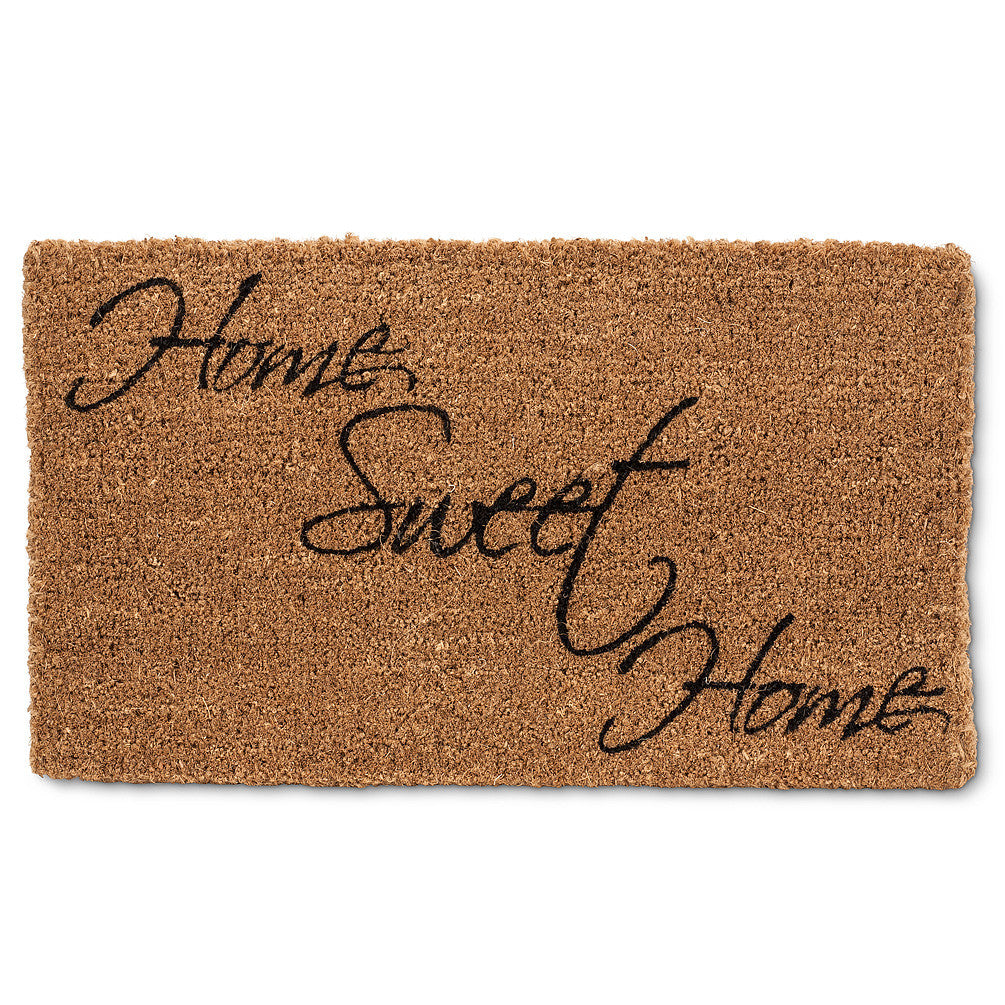 """Home Sweet Home"" Doormat -  Carpets and Rugs - Abbot Collection - Putti Fine Furnishings Toronto Canada"