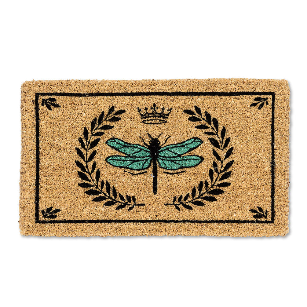 Dragonfly in Crest Doormat