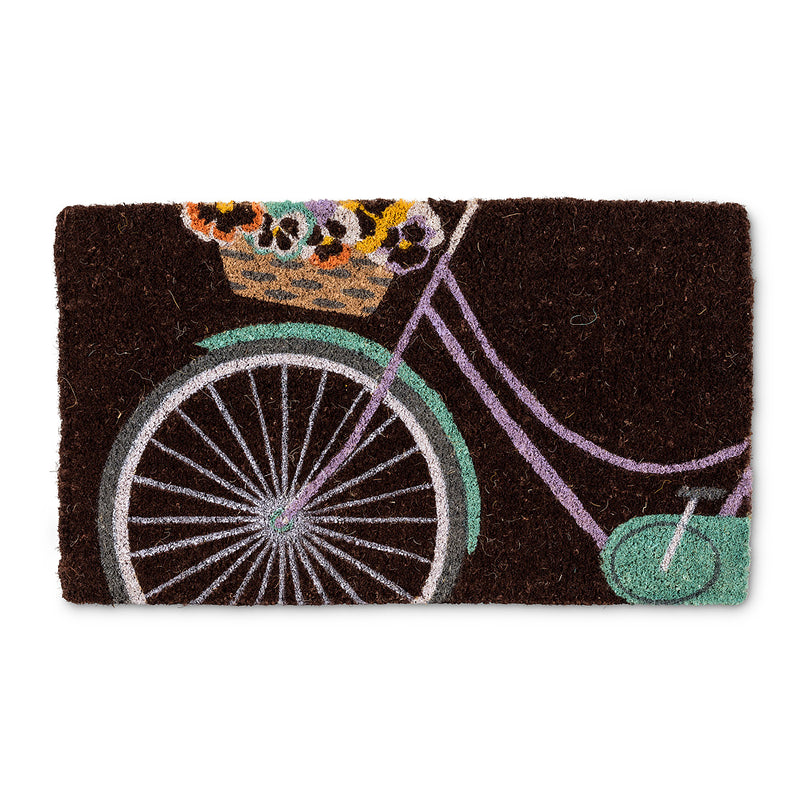Pansy Bicycle Doormat, AC-Abbott Collection, Putti Fine Furnishings
