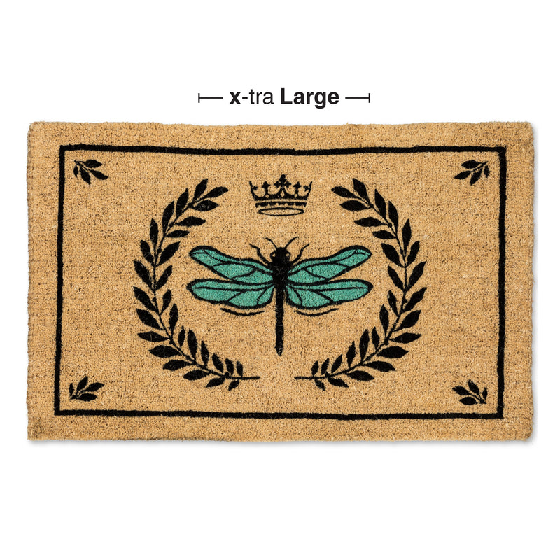 Dragonfly in Crest Doormat - Extra Large