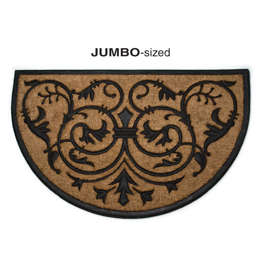Half Round Scroll Doormat - Extra Large