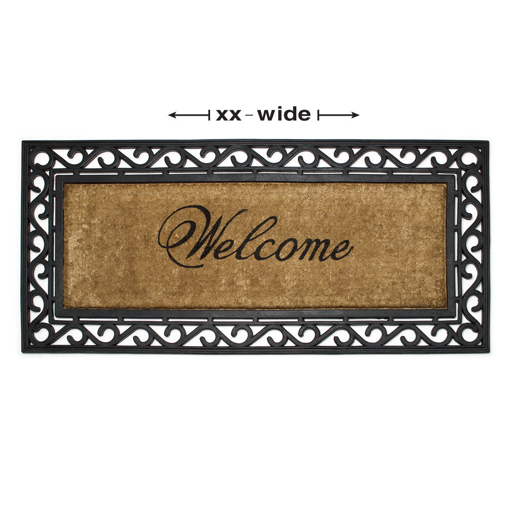 Welcome Double Doormat - Extra Large