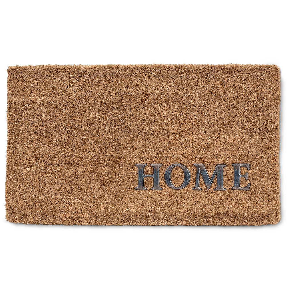 "Natural ""Home"" Doormat, AC-Abbott Collection, Putti Fine Furnishings"