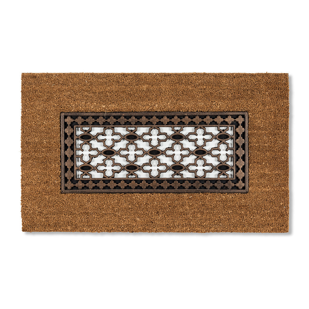 Copper Rubber Inset Doormat, AC-Abbott Collection, Putti Fine Furnishings
