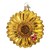 Old Word Christmas Sunflower Glass Ornament, OWC-Old World Christmas, Putti Fine Furnishings