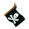 Old World Christmas Jolly Roger Flag Christmas Ornament, OWC-Old World Christmas, Putti Fine Furnishings