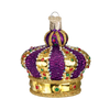 Old World Christmas Crown of Royalty Glass Ornament -  Christmas Decorations - Old World Christmas - Putti Fine Furnishings Toronto Canada - 1