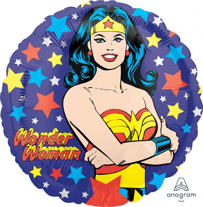 Wonder Woman Mylar Balloon, SE-Surprize Enterprize, Putti Fine Furnishings