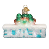 Old Word Christmas Peace Glass Ornament, OWC-Old World Christmas, Putti Fine Furnishings