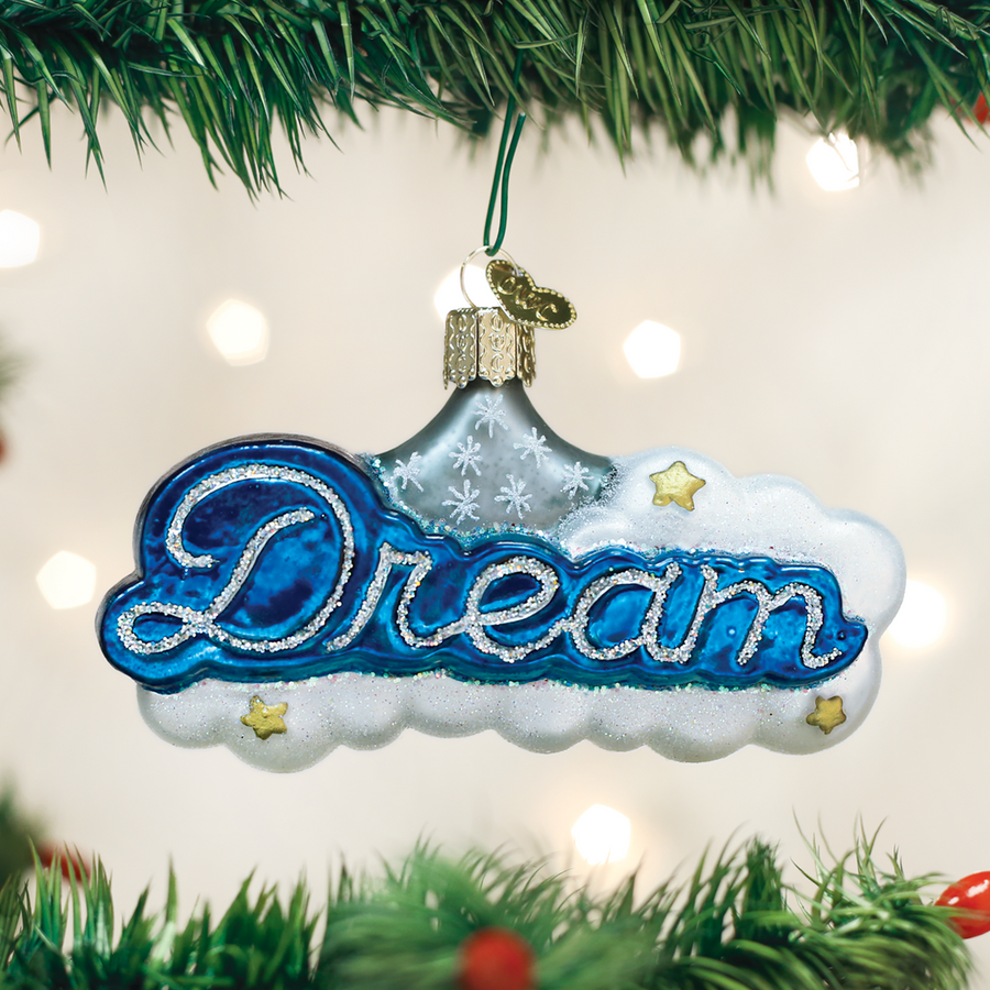 "Old World Christmas ""Dream"" Glass Ornament"