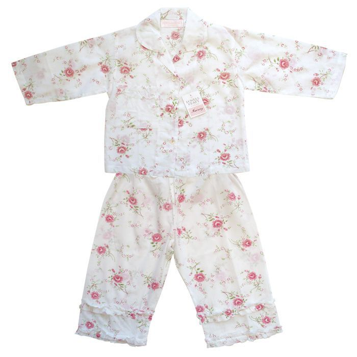 """Rosie"" Floral Pajamas, PC-Powell Craft Uk, Putti Fine Furnishings"