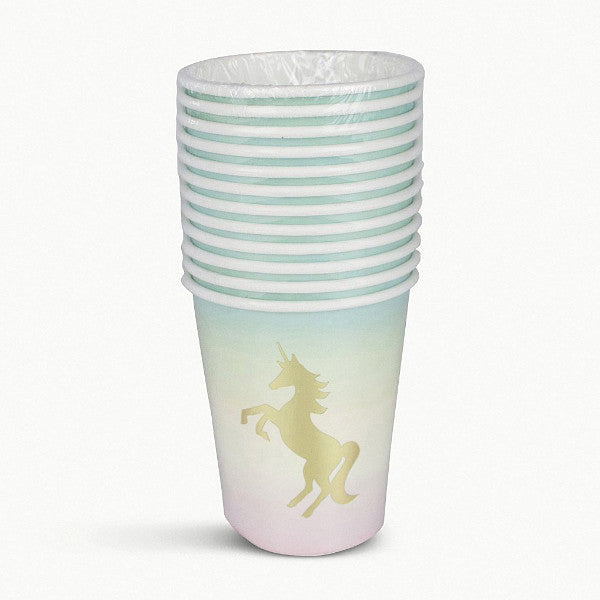 """We Heart Unicorns"" Paper Cups"