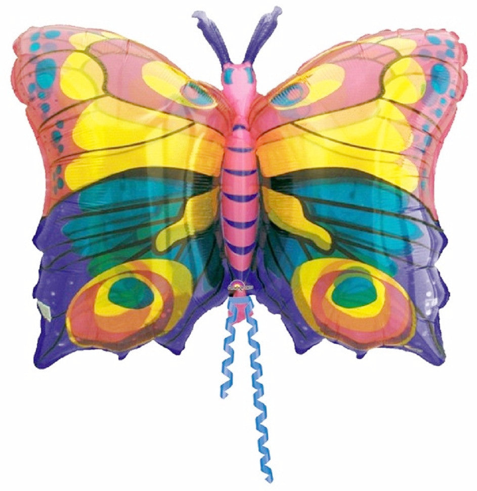 "Supershape ""Jewelled"" Butterfly Balloon"