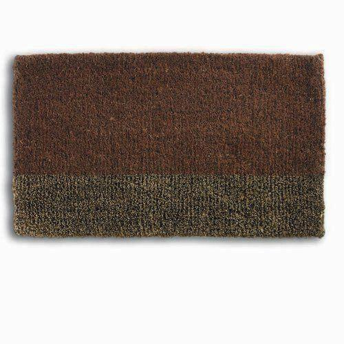 Siena Two Tone Boot Scrape Coir Doormat, TAG-Design Home Associates, Putti Fine Furnishings