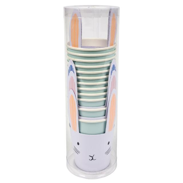 Meri Meri Pastel Bunny Paper Cups, MM-Meri Meri UK, Putti Fine Furnishings