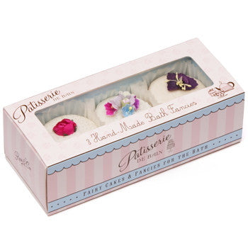 """Patisseries de Bain"" Box of three Bath Fancies-Bath Products-Rose & Co-Putti Fine Furnishings"