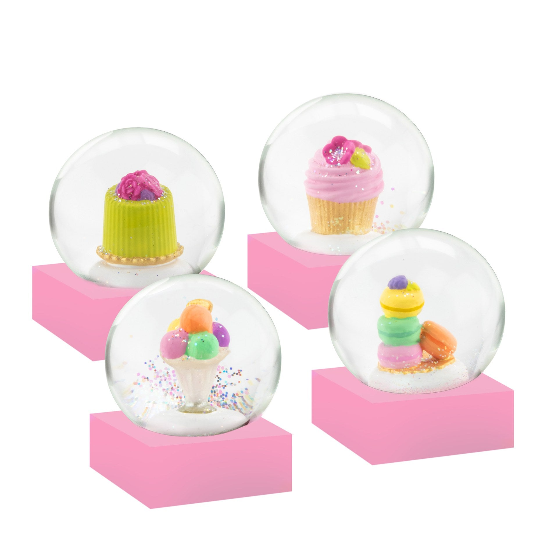 CoolSnowGlobes - Mini Desserts Set of Four Snow Globes | Putti Canada