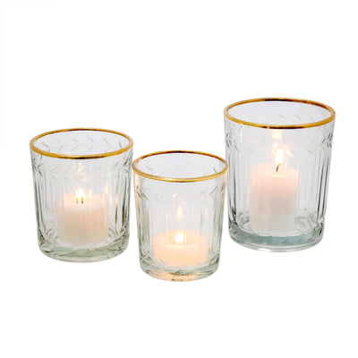 Twilight Votive Glass - Large - Putti Fine Furnishings Canada