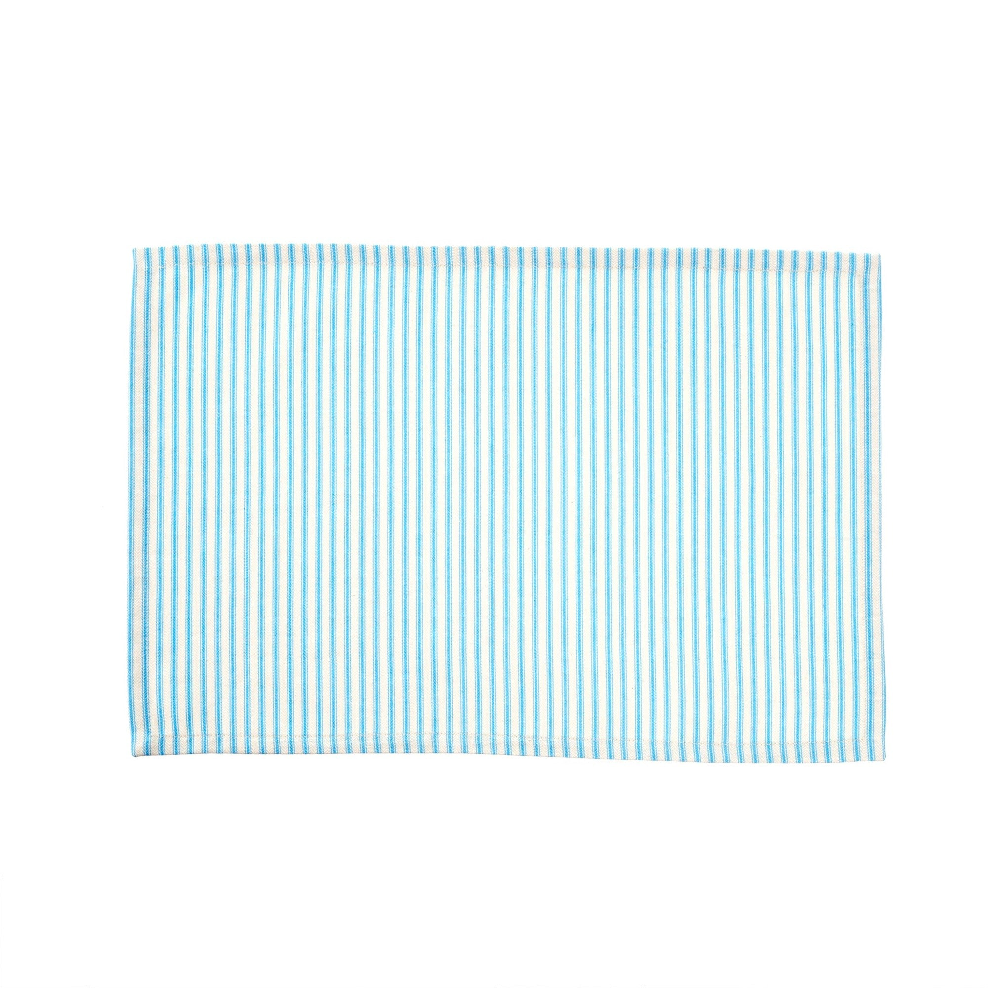 Ticking Placemat - Blue