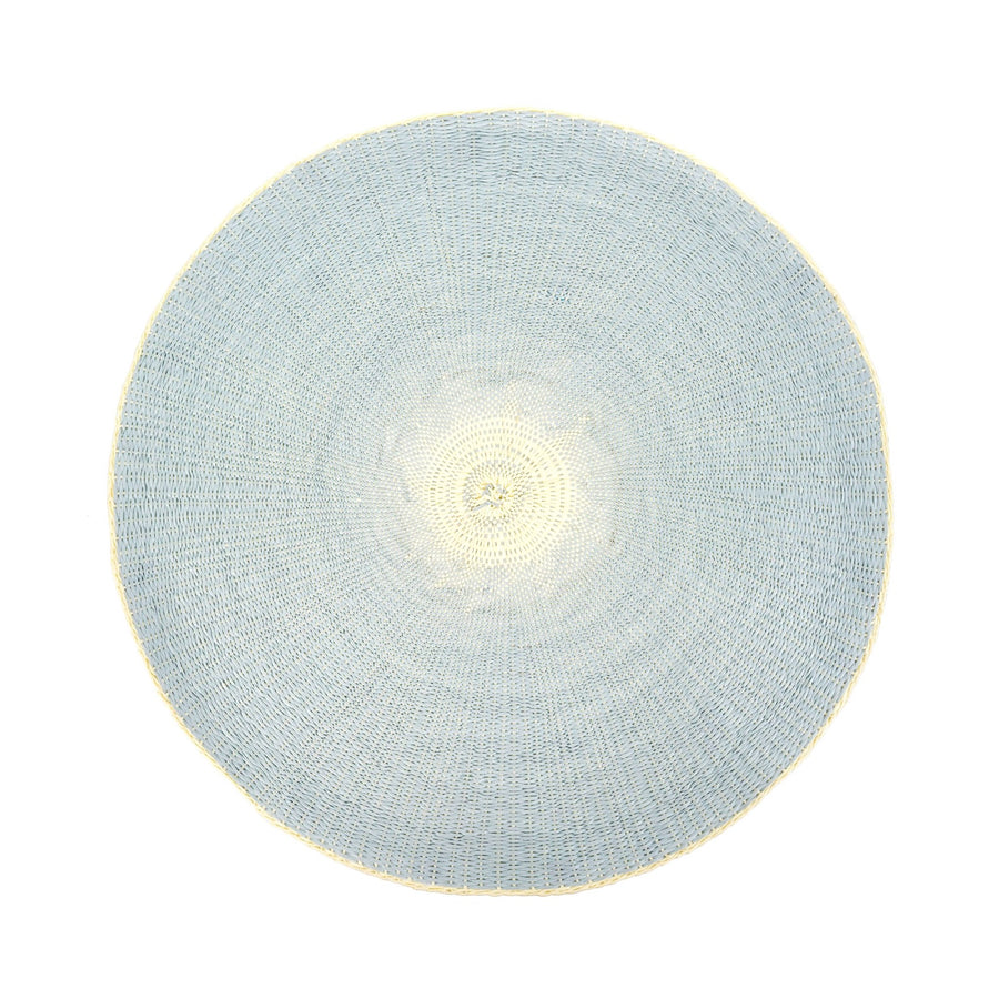 Willa Woven Placemat - Sky Blue