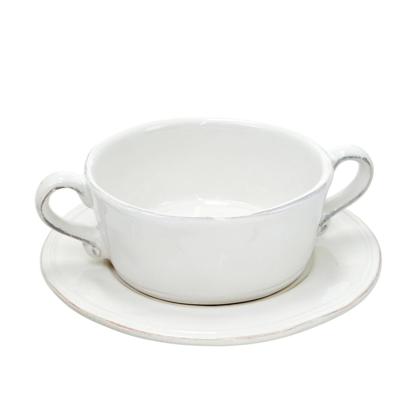 """Ceres"" Soup Bowl and Plate"