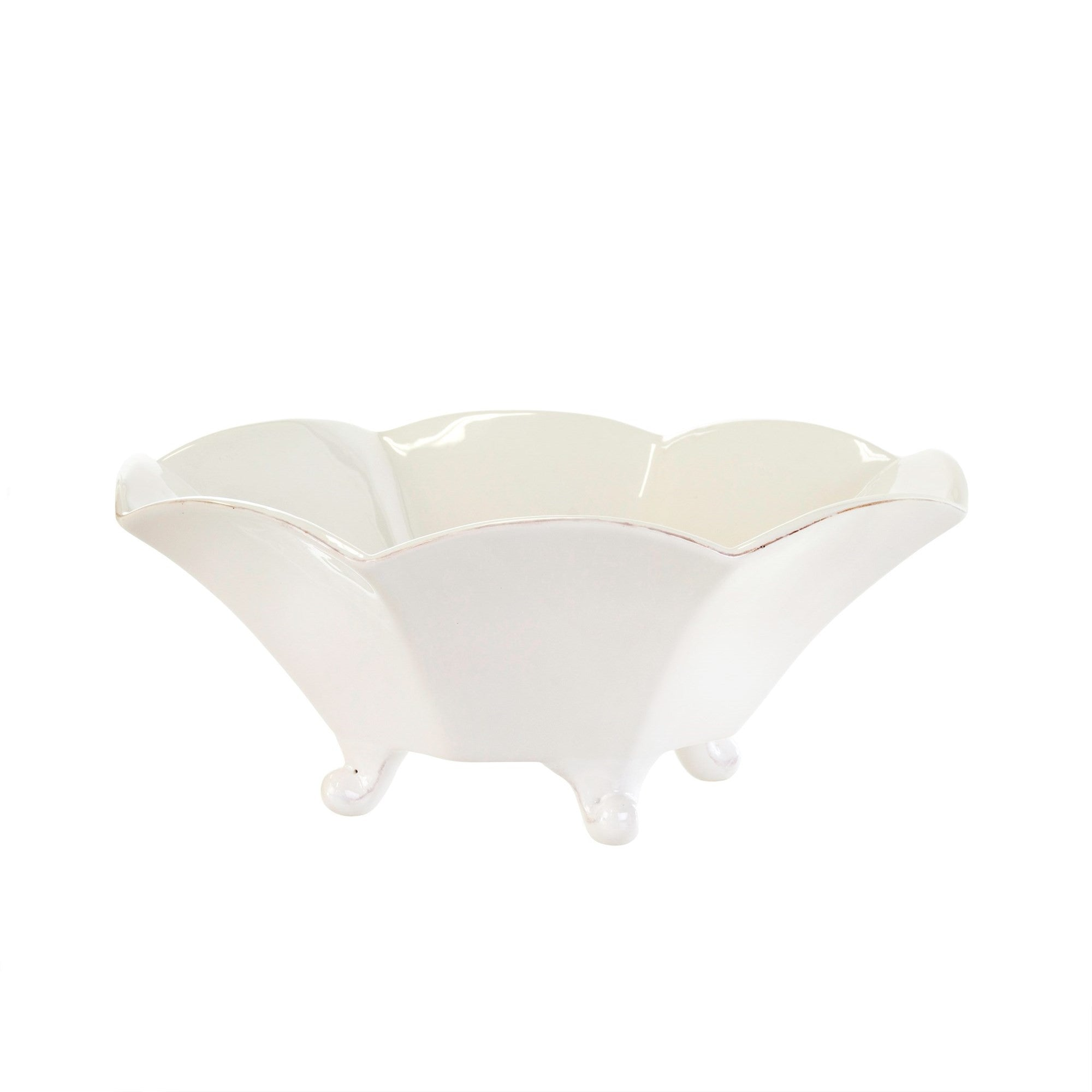Roma Scalloped Serving Bowl, IT-Indaba Trading, Putti Fine Furnishings