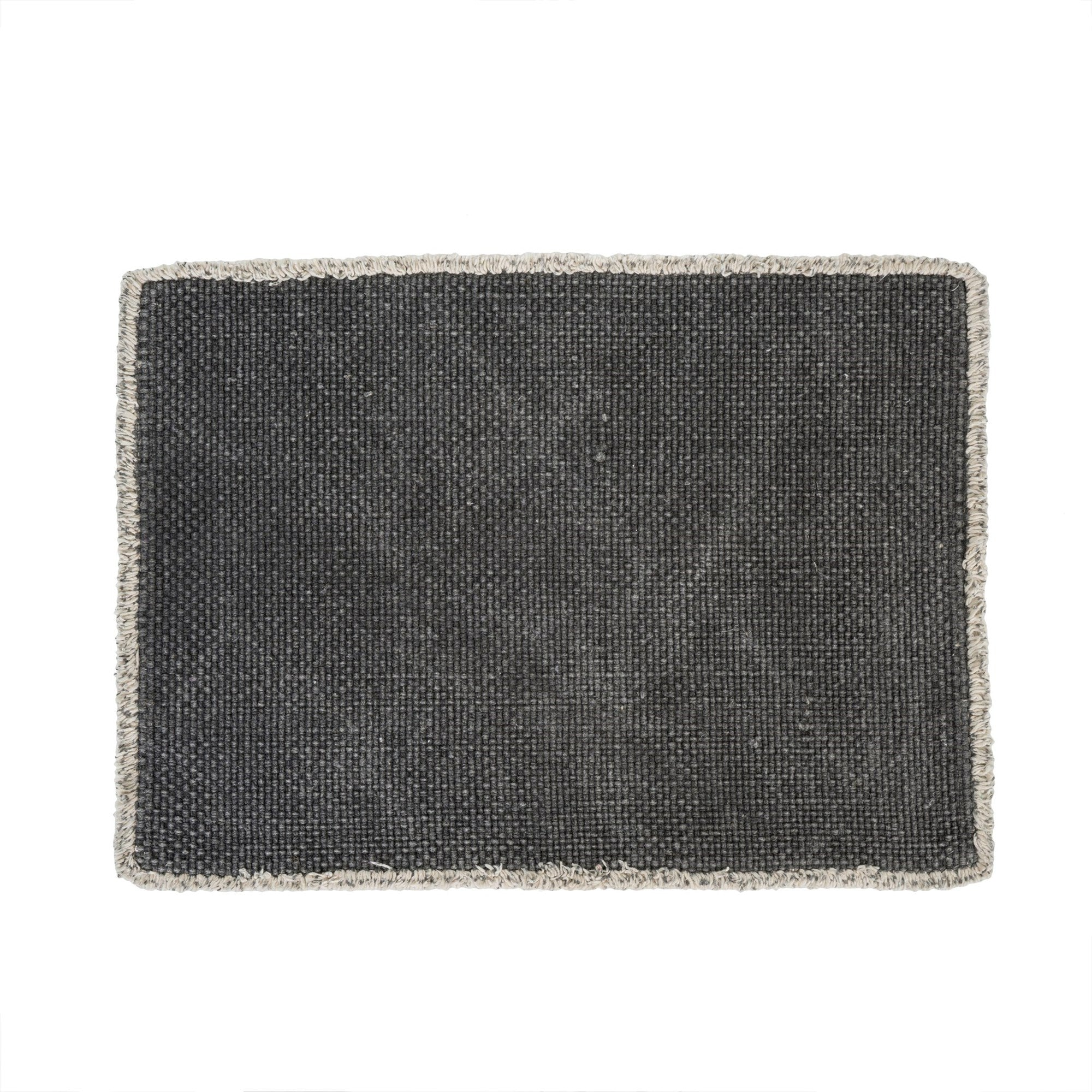 Stonewashed Placemat - Charcoal