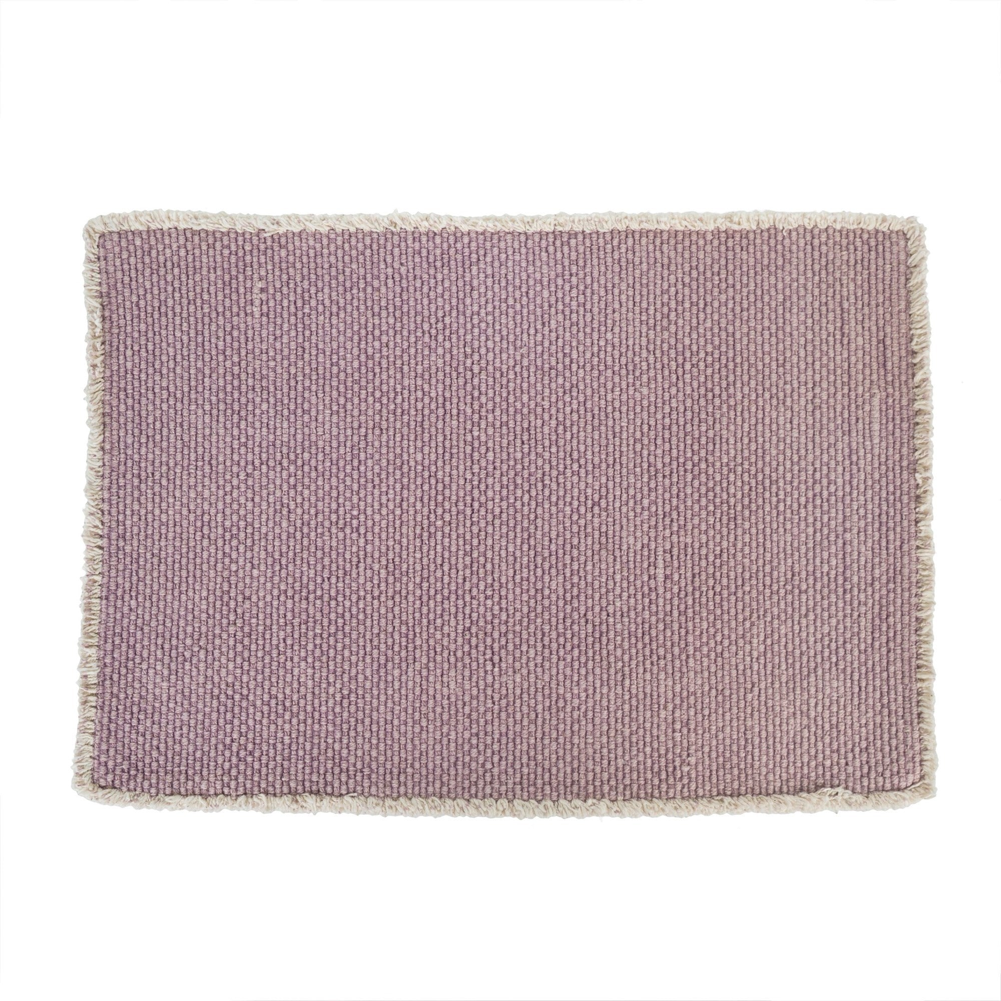 Stonewashed Placemat - Pink -  Soft Furnishings - Indaba Trading - Putti Fine Furnishings Toronto Canada