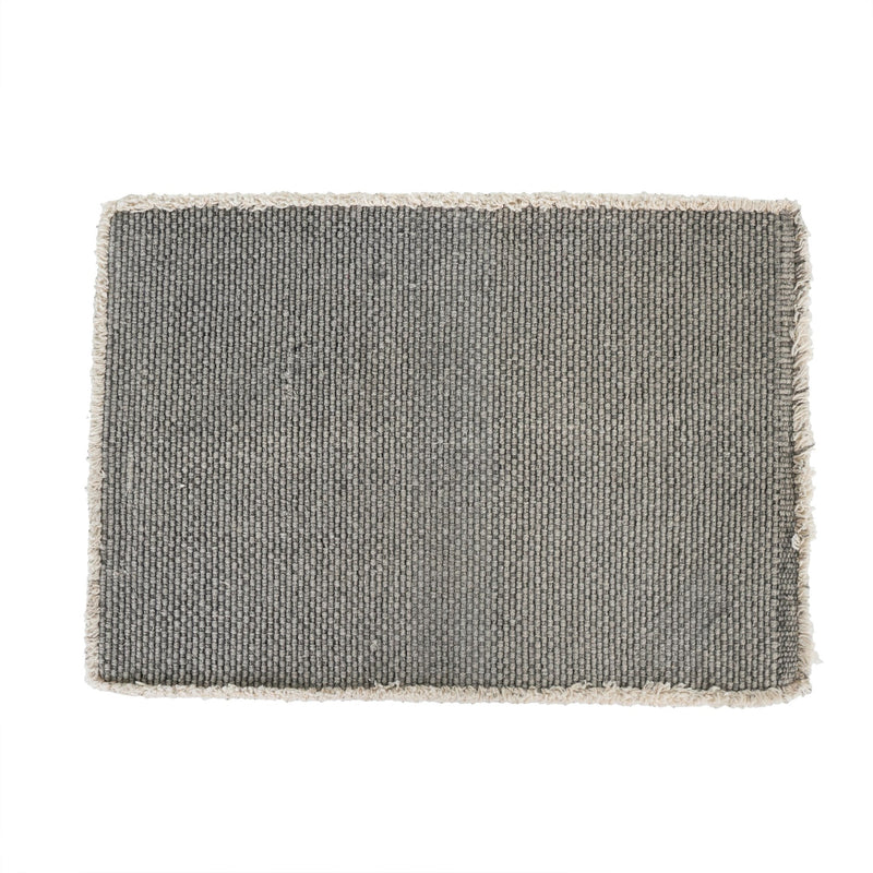 Stonewashed Placemat - Grey
