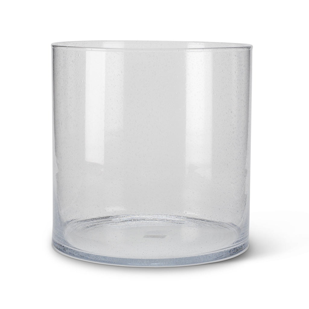 Seeded Glass Cylinder Vase - Extra Large -  Accessories - Abbot Collection - Putti Fine Furnishings Toronto Canada - 5